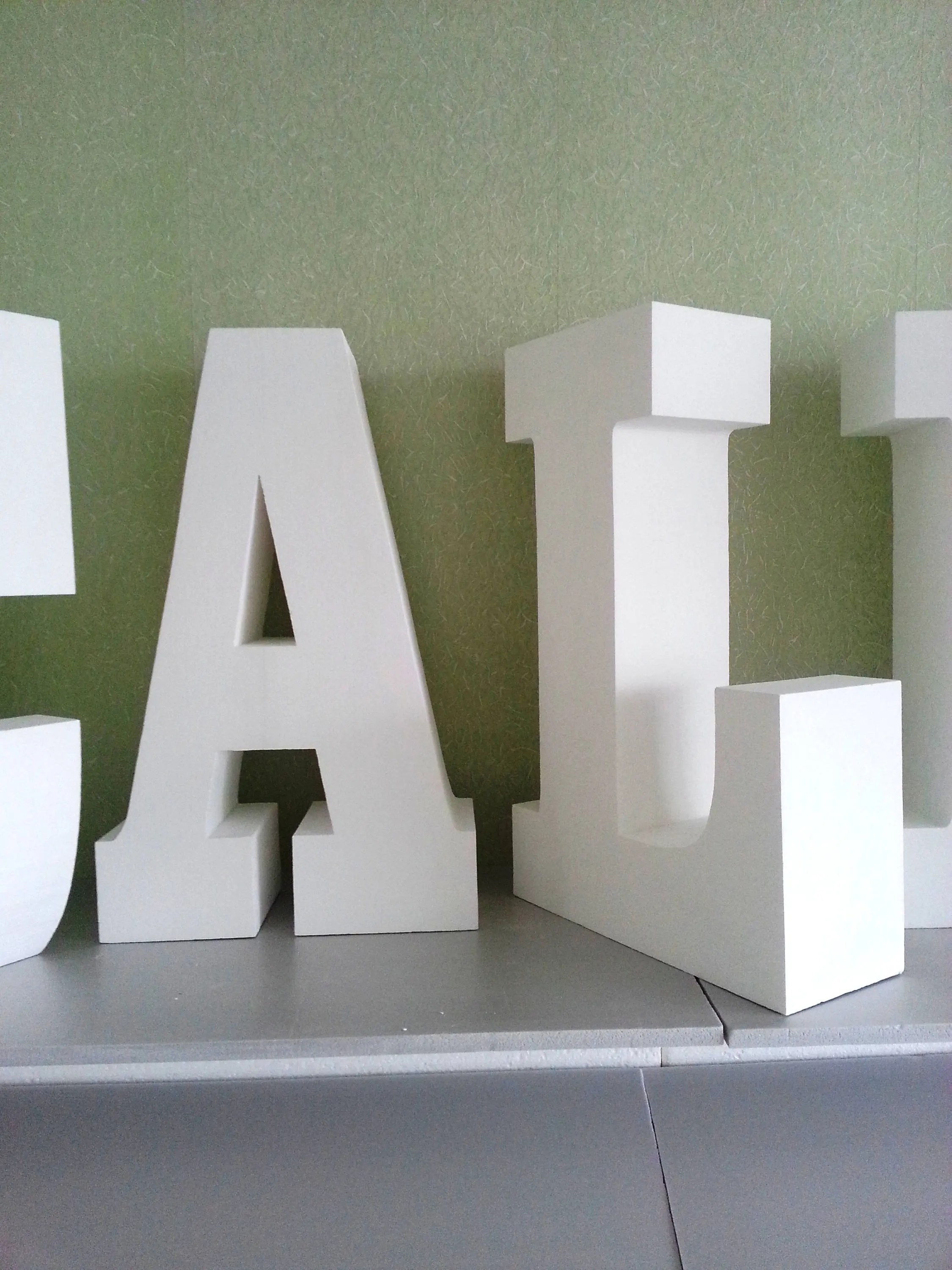 giant letters 30 inches