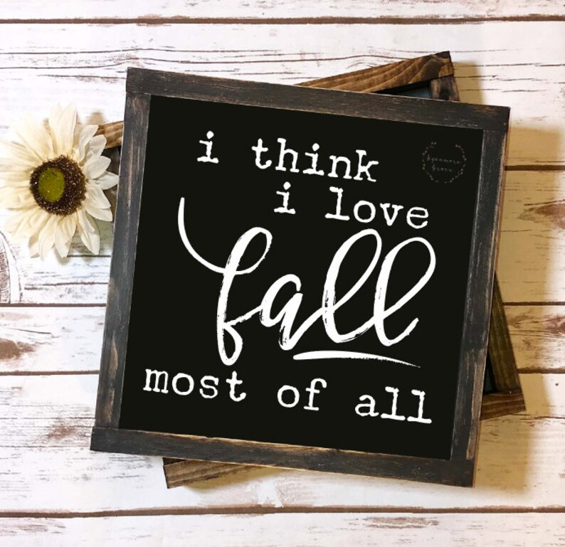Download I think I love fall most of all SVG fall svg fall leaves ...
