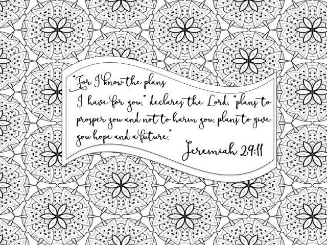 Adult Coloring Pages, Adult Coloring Book, Bible Journaling, Color Bible  Verses, Coloring Pages for Adults, Jeremiah 19 19, color therapy