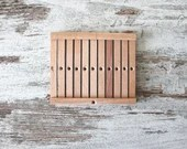 heddle board MEDIUM for weaving, hand weaving instruments, small size for bordures, medieval reenactment, christmas gift idea for crafters