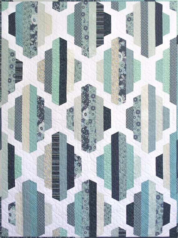 Garden Lattice Quilt Pattern : garden, lattice, quilt, pattern, Booklet, Modern, Quilt, Pattern, Garden, Lattice