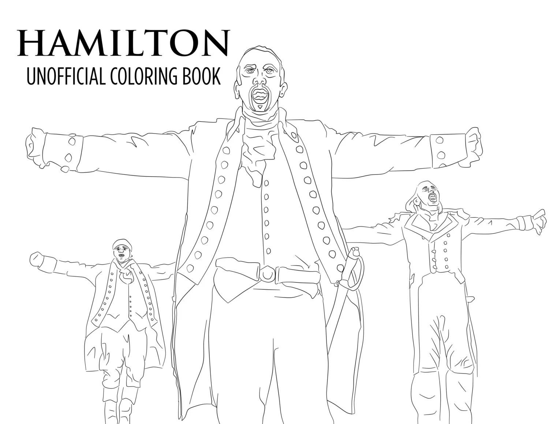 Hamilton Coloring Book Printable Download Unofficial