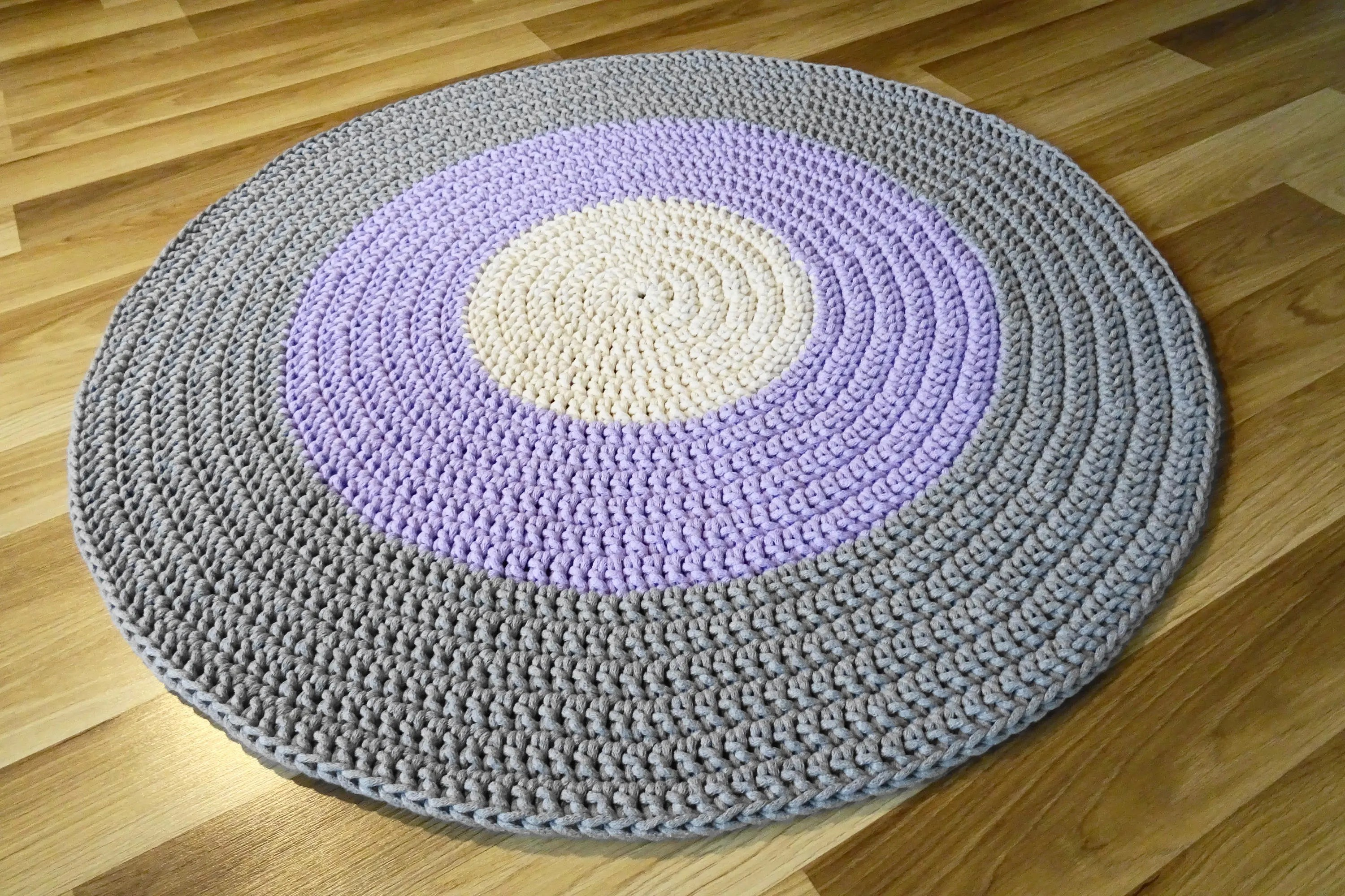 Kinderzimmer Teppich Neutral Alfombra De Trapillo Kinderzimmer Teppich Rund Tapis Rond Vloerkleed Nursery Decor Girl Nursery Decor Boy Crochet Circle Rug Kinderteppich