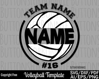 Download Volleyball shirt | Etsy