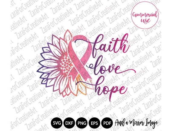 Download Breast cancer svg Faith Love Hope svg breast cancer ...