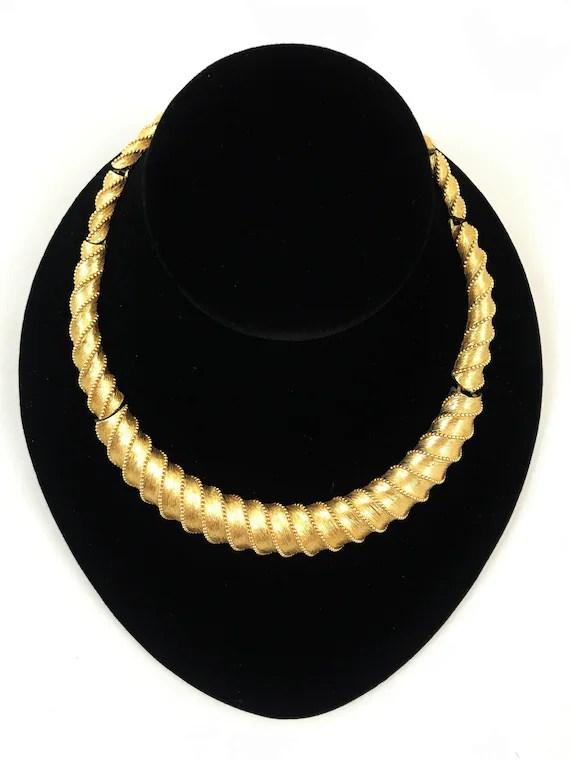 Monet Jewelry : monet, jewelry, Vintage, Monet, Choker, Necklace, Jewelry