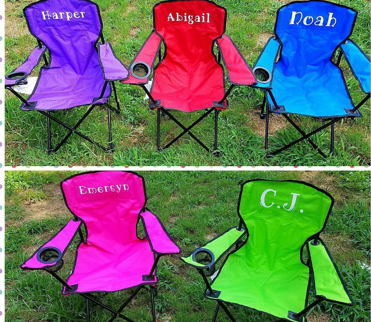 kids outdoor chair hanging gumtree sydney desks tables chairs etsy in camping canvas beach