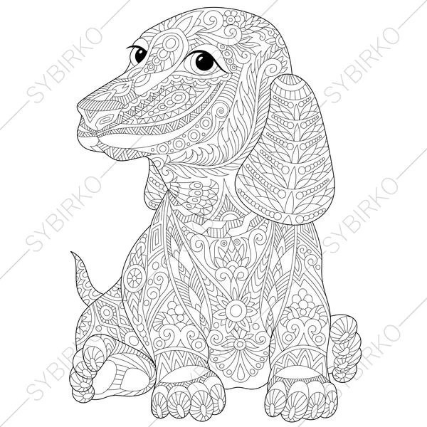 dachshund coloring pages # 83