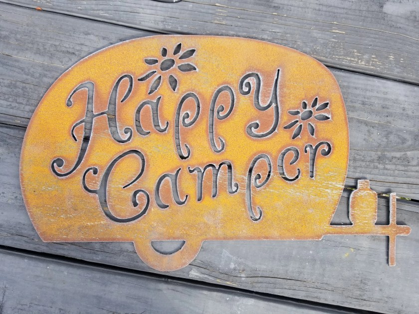 Happy Camper Hippie Retro...