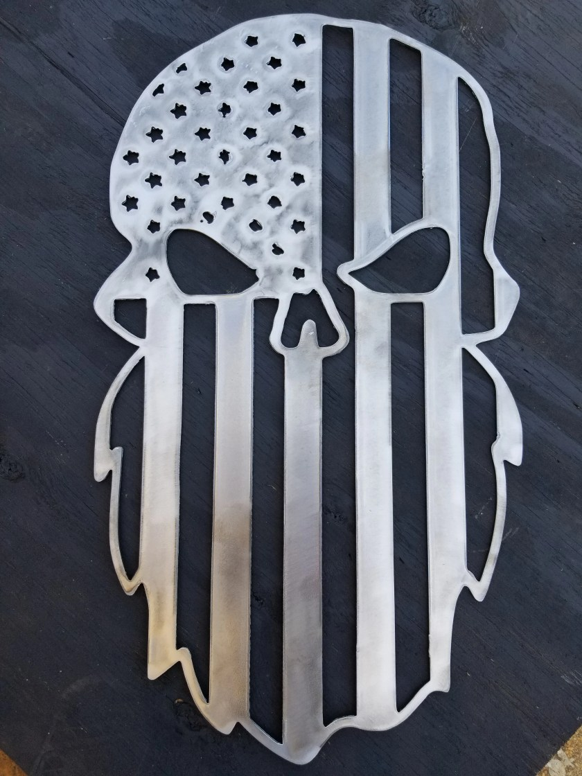 Beard Skull Flag Plasma M...