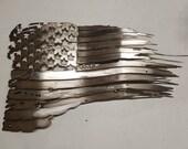 Tattered American Flag...