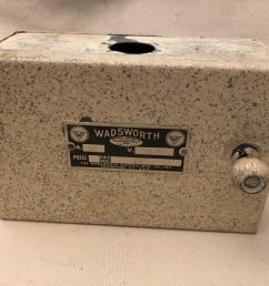 vintage wadsworth fuse box wiring library vintage 2 pole wadsworth electrical panel for glass fuse plugs [ 2048 x 1536 Pixel ]