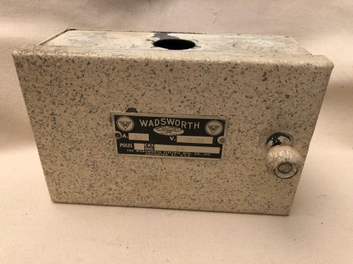 small resolution of vintage wadsworth fuse box wiring library vintage 2 pole wadsworth electrical panel for glass fuse plugs