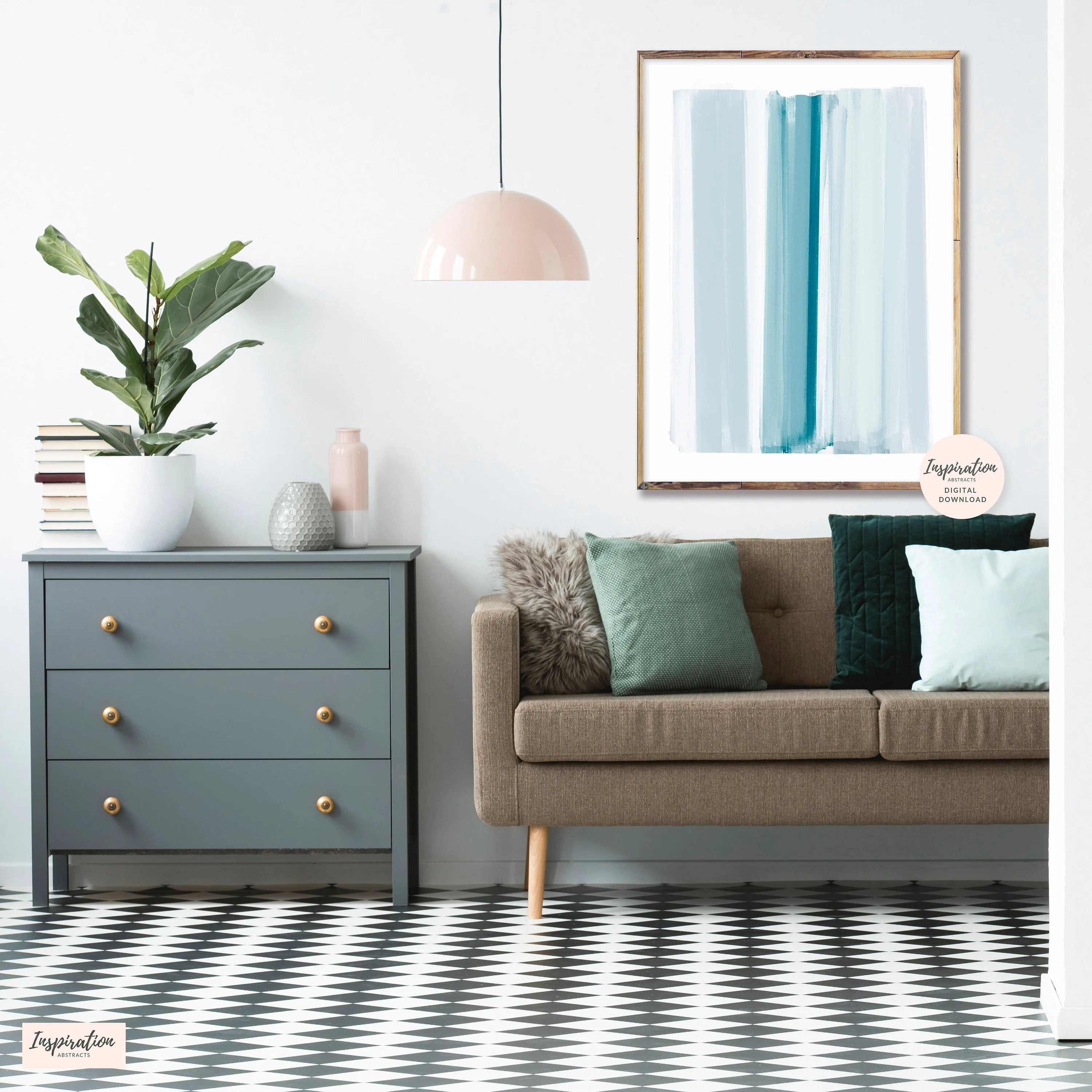 art in living room small wall cabinets for minimal abstract brushstrokes mindful oversized scandi modern print