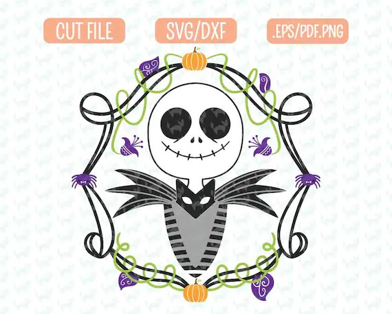 Please ensure you input a correct email address; Inspired Nightmare Before Christmas Svg Dxf Eps Png Files Etsy