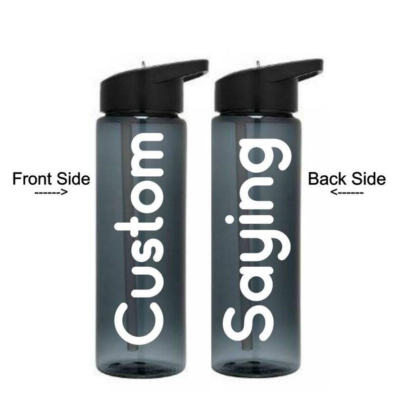 custom design water bottle