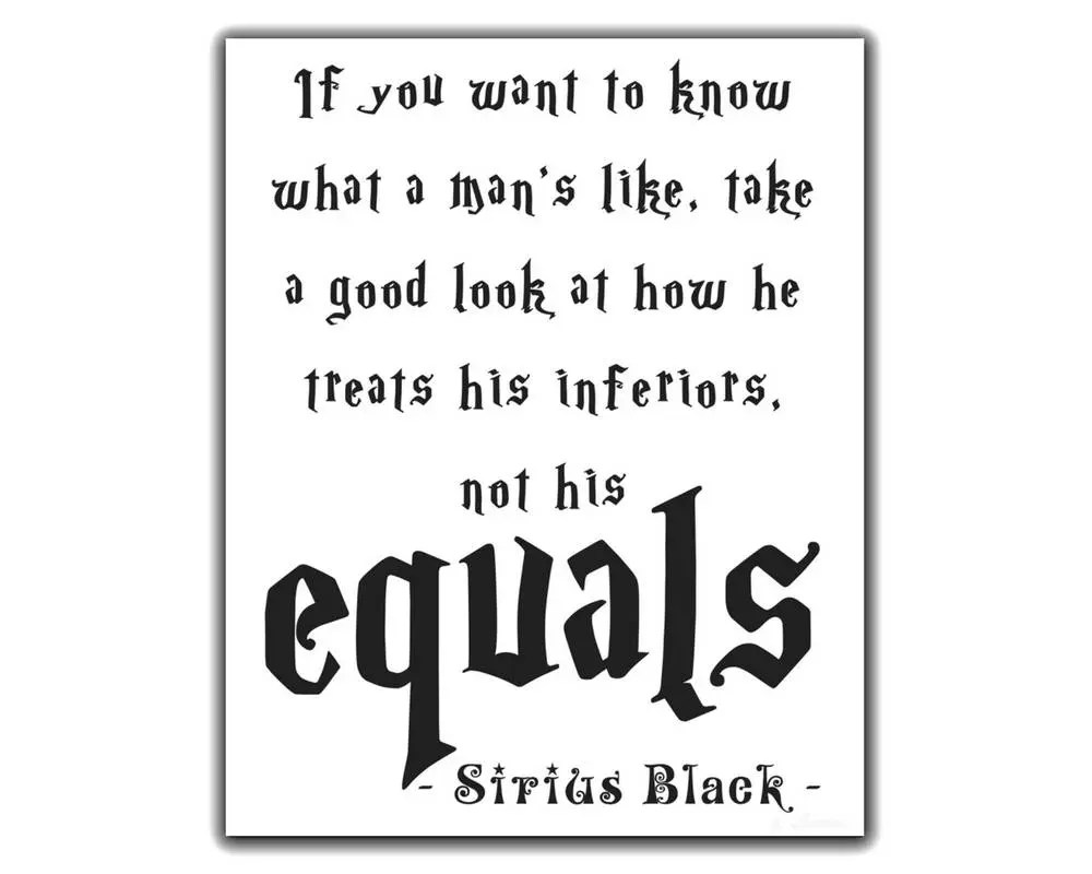 Sirius Black Quote. Sirius Black Poster. If you want to