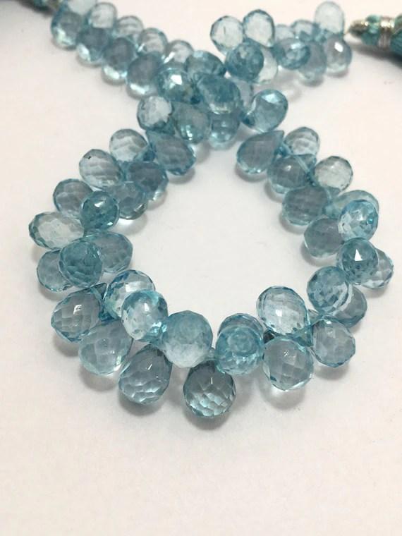 Sky Blue Quartz : quartz, Carat, Quartz, Faceted, Drops