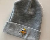 Minnesota Vikings Patch Beanie (Gray)