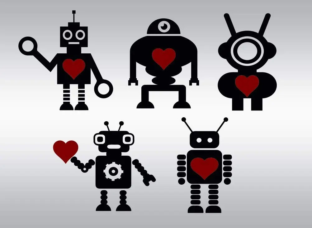 Download Love machine svg robot clipart Valentine Robot svg Boy svg ...