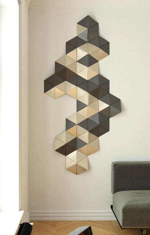 Geometric Decor : geometric, decor, Decor, Geometric, Sculpture