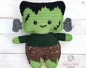 Frankenstein's Monster Crochet Pattern