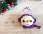 Snowman Ornament Crochet Pattern