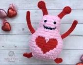 Big Fuzzy - Love Monster Crochet Pattern