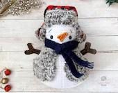 Cozy Snowman Crochet Pattern