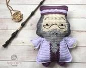 Ragdoll Dumbledore Crochet Pattern