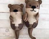 Amigurumi Otter Family Crochet Pattern