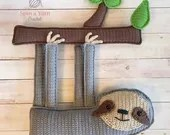 Ragdoll Sloth Crochet Pattern
