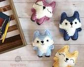 Pocket Fox Crochet Pattern
