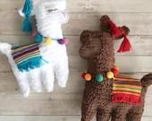 Ragdoll Llama Crochet Pattern