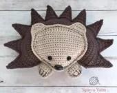 Hedgehog Amigurumi Crochet Pattern