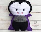 Vampire Amigurumi Crochet Pattern
