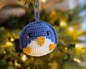 Penguin Ornament Crochet Pattern