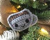 Mug O' Cocoa Ornament Crochet Pattern