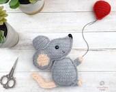 Mouse Amigurumi Crochet Pattern
