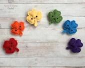 Shamrock Amigurumi Crochet Pattern