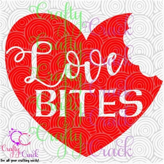 Download Love Bites SVG DXF PNG Digital Download for Silhouette | Etsy