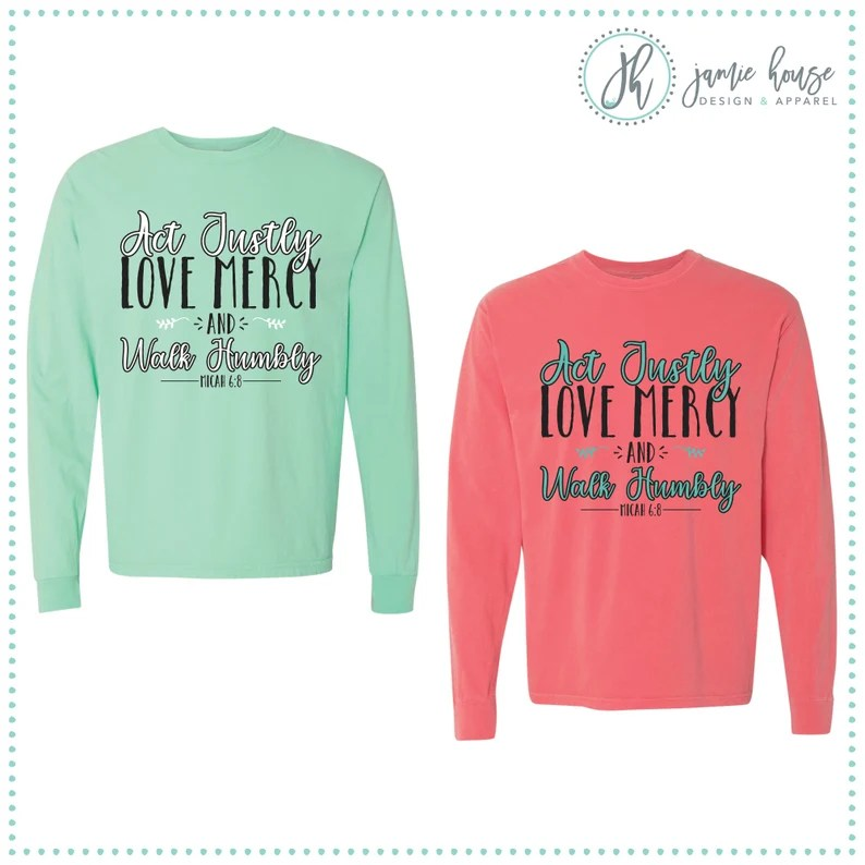 Download Act Justly Love Mercy and Walk Humbly SVG Cut File ...