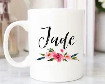 personalised mug etsy