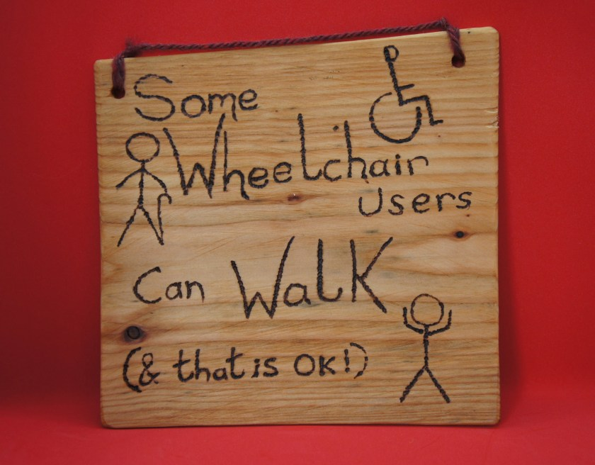 Some wheelchair users can...