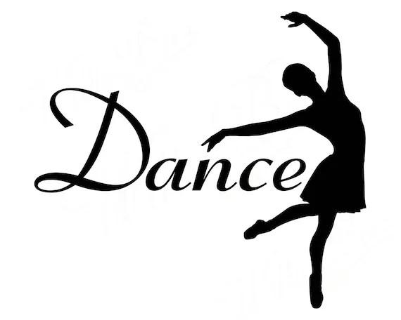 Download Dance SVG Ballet SVG Dance Cut File Dancer SVG Love | Etsy