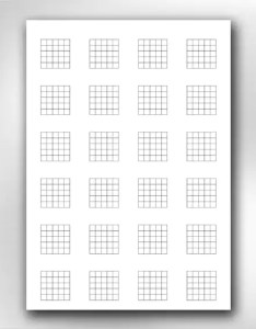 Image also  printable guitar blank chord chart diagrams songwriting etsy rh