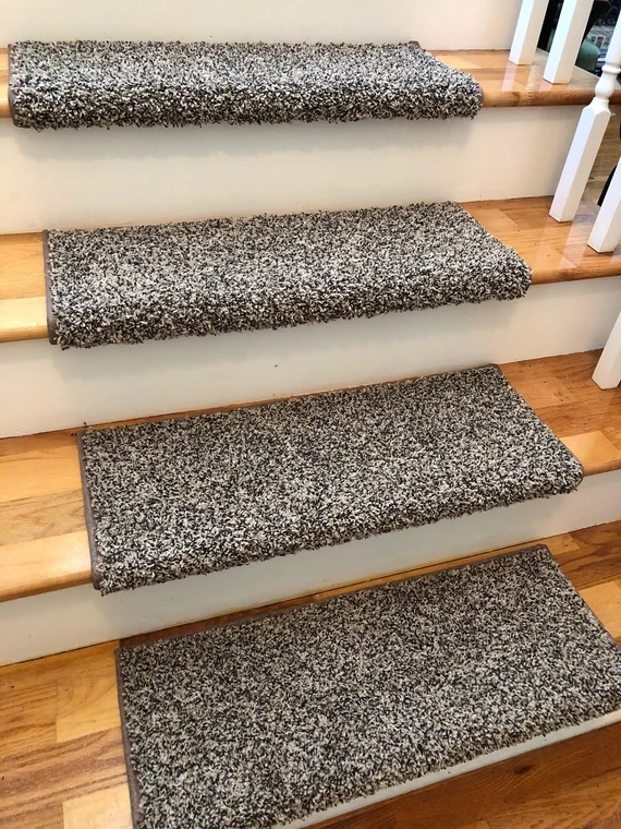Beach B*M True Bullnose™ Padded Carpet Stair Tread For Etsy   Cheap Carpet Stair Treads   Carpet Runners   Wall Carpet   Wool Carpet   Rugs   Stair Runner