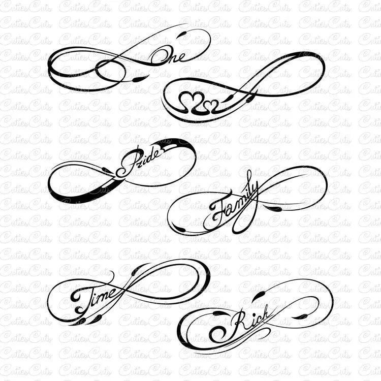 Design Your Own Infinity Tattoo Free. infinity believe