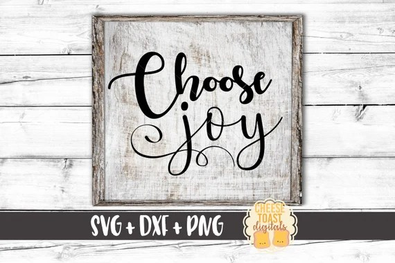 Download Choose Joy SVG Joy Svg Joyful Svg Inspirational Svg Svg   Etsy