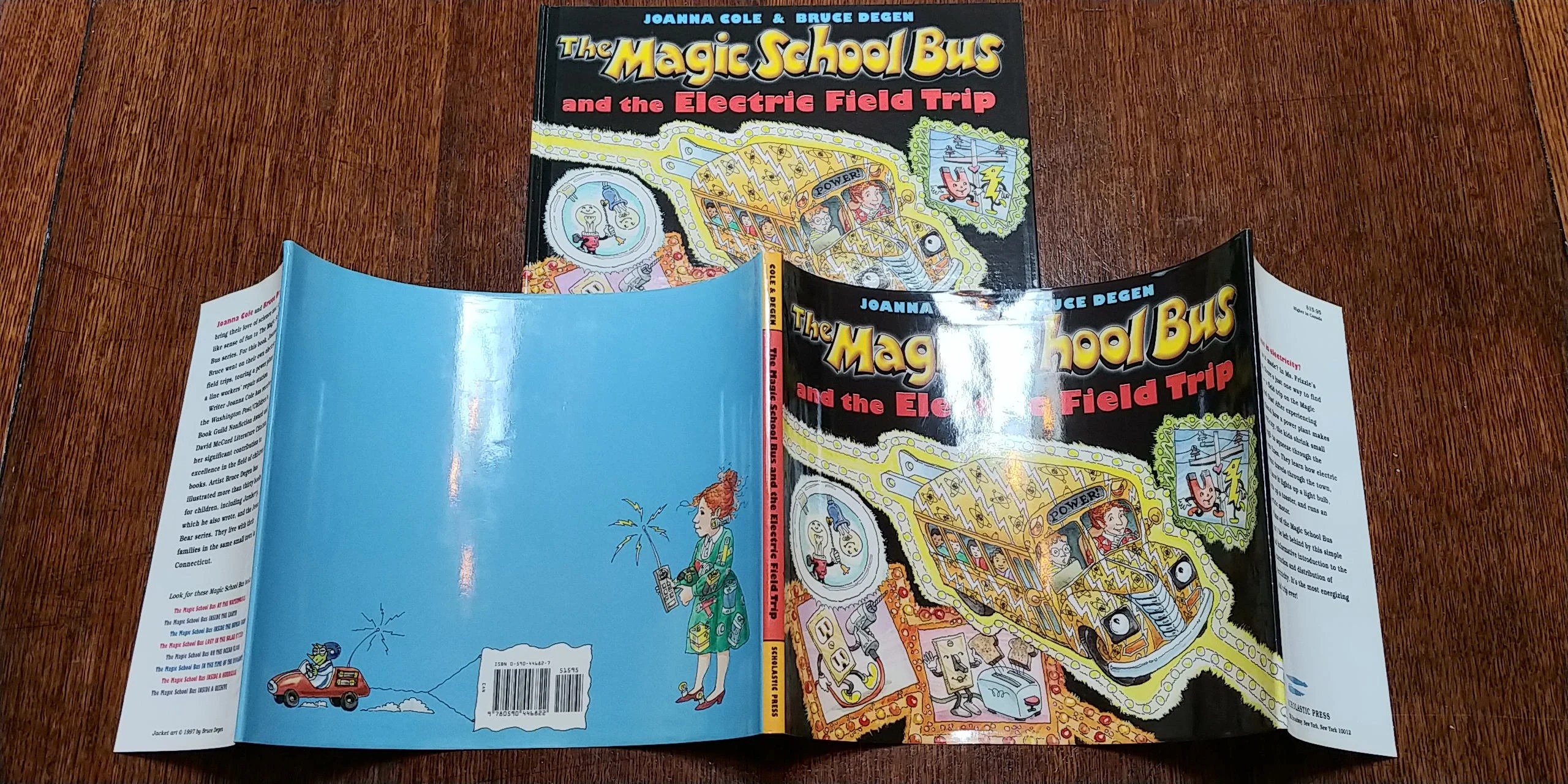 The Magic School Bus And The Electric Field Trip By Joanna